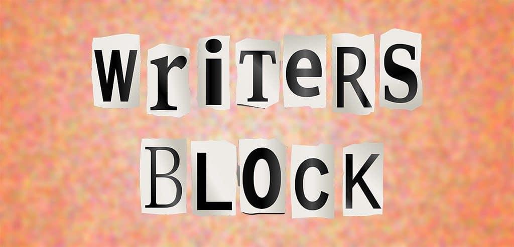 writers block text