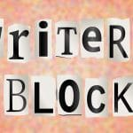 writers block text